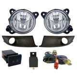 Kit farol de milha Fox e Spacefox 2010 a 2014 Com Tecla de led - Orgus